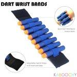 Kids-Ultimate-Tactical-Vest-100-Piece-Kit-for-N-Strike-Elite-Nerf-with-Tactical-Vest-Holster-Belt-2-Wrist-Bands-2-Quick-Reloads12-Foam-Cans-Mask-Glasses-80-Refill-Darts-ULTRA-VALUE-PACK-0-1