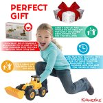 Kidwerkz-Bulldozer-Toy-Take-Apart-Toys-Fun-Gift-for-4-year-old-boy-Toddler-Ages-3-years-6yr-55-pieces-Tractor-Construction-Truck-Vehicle-Best-Kids-Gifts-for-Holidays-2017-Stem-Learning-Tools-0-2