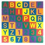 Kidzone-12×12-Kids-Baby-EVA-Foam-Play-Mats-Alphabet-ABCNumbers-Puzzle-Mat-Non-Toxic-12-Thick-36-Piece-0