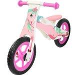Kobe-Wooden-Balance-Bike-Pink-Pony-12-Bicycle-0