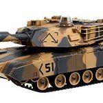 M1A2-Abrams-USA-Battle-Tank-RC-16-Airsoft-Military-Vechile-Desert-Camouflage-0