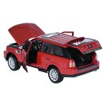 Maisto-118-RANGE-ROVER-SPORT-Red-Display-Miniature-Car-0-0