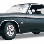 Maisto-118-Scale-1971-Chevy-Chevelle-SS-454-Coupe-Diecast-Vehicle-Colors-May-Vary-0