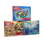 Melissa-Doug-Floor-Puzzle-USA-Map-Under-The-Sea-Safari-Puzzle-3-Pack-0