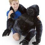 Melissa-Doug-Giant-Gorilla-Lifelike-Stuffed-Animal-over-2-feet-tall-0-0