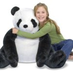 Melissa-Doug-Giant-Panda-Bear-Lifelike-Stuffed-Animal-over-2-feet-tall-0-1