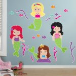 Mermaid-Room-Decor-Giant-Wall-Decals-0