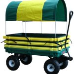 Millside-Industries-Trekker-Wagon-with-Yellow-Poly-Rack-Set-0