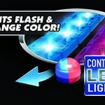 Mindscope-LED-Laser-Twister-Tracks-12-Feet-of-Light-Up-Flexible-Track-1-Light-Up-Race-Car-Each-Individual-Track-Piece-Contains-Lights-Standard-Color-System-0-2