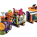 Monster-Halloween-Train-Table-Centerpiece-17-12-Resin-Monsters-Skeletons-Ghosts-Decor-0