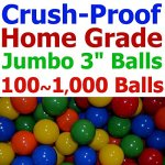 My-Balls-Pack-of-Jumbo-3-Crush-Proof-Ball-Pit-Balls-5-Bright-Colors-Phthalate-Free-BPA-Free-PVC-Free-non-Toxic-non-Recycled-Plastic-0