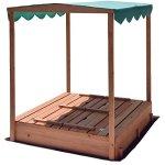 Naomi-Home-Kids-Canopy-Cedar-Sandbox-with-2-Convertible-Benches-0-0
