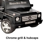 National-Products-12V-Black-Mercedes-Benz-G-Class-Battery-Operated-Ride-on-0-2
