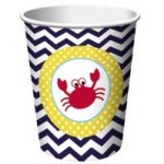 Nautical-Baby-Shower-Supplies-Decorations-Set-Including-Plates-Napkins-Cups-Table-Cover-and-Banner-0-2
