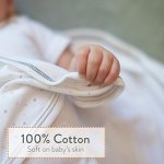 Nested-Bean-Zen-Sack-Classic-Adjustable-Cotton-Wearable-Blanket-Baby-Sleeping-Bag-0-2