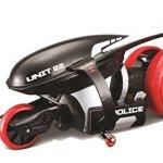 New-Maisto-Tech-Top-RC-Remote-Control-Cyklone-360-Stunt-Police-Bike-Toy-Gadget-0