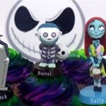 Nightmare-Before-Christmas-10-Piece-Deluxe-Cupcake-Topper-Set-Featuring-Zero-Barrel-Lock-Shock-Sally-Jack-Skellington-and-Other-Decorative-Themed-Accessories-Cake-Topper-Figures-Range-from-2-to-3-Tall-0-0