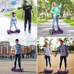 OXA-Hoverboard-Self-Balancing-scooter-UL-2272-Certified-Super-Long-Range-17km-Double-Patented-Personalized-hover-board-with-LED-Lights-and-Two-Model-Intelligent-Self-balance-Control-System-Purple-0-1