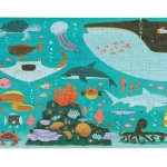 Ocean-Floor-Puzzle-200-Pc-Ocean-Puzzle-With-Matching-Educational-Poster-and-Carrying-Case-13-x-19-0-0