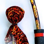 Orange-Tie-Dye-Bow-Arrows-Set-with-Bulls-Eye-0-1