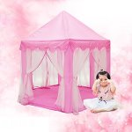 Otmake-Indoor-Easy-Assemble-Hexagon-Play-Tent-For-Children-Princess-Castle-Play-Tent-0-0