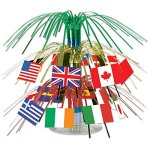 Pack-of-12-Tinsel-International-Flag-Mini-Cascading-Party-Table-Centerpieces-75-0