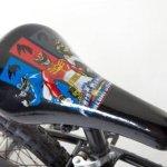 Power-Rangers-Boys-16-Inch-Mega-Force-Bike-Black-and-Red-0-0