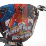 Power-Rangers-Boys-16-Inch-Mega-Force-Bike-Black-and-Red-0-2