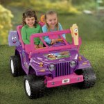 Power-Wheels-Nickelodeon-Dora-the-Explorer-Jeep-Wrangler-0-0