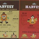 Pumpkin-Decor-Kit-Push-In-No-Carving-for-Fall-Halloween-Thanksgiving-2pk-Scarecrow-Turkey-0-0