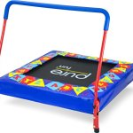 Pure-Fun-Kids-Preschool-Jumper-36-Mini-Trampoline-with-Handrail-Youth-Ages-3-to-7-0-2