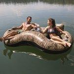 REALTREE-MAX-5-Lake-Runner-X2-Inflatable-2-Person-Tube-0-0