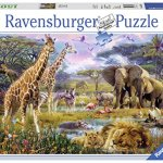 Ravensburger-Colorful-Africa-Jigsaw-Puzzle-1500-Piece-0
