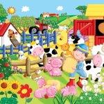 Ravensburger-My-Little-Farm-24-Pieces-Super-Sized-Floor-Puzzle-0-0