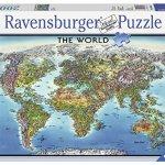 Ravensburger-World-Map-Jigsaw-Puzzle-2000-Piece-0