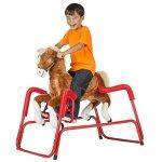 Rockin-Rider-Lucky-Talking-Plush-Spring-Horse-0-0