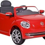 Rollplay-VW-Beetle-6-Volt-Battery-Powered-Ride-On-Red-0