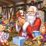 Santa-Friends-Kids-Jigsaw-Puzzle-100-Piece-0