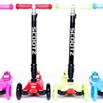 ScootZ-Original-Adjustable-Height-Three-Wheel-Childrens-Kick-Scooter-With-LED-Light-Up-Wheels-0-0