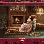 Serenity-By-The-Fireplace-By-Dona-Gelsinger-1500-Piece-Puzzle-0