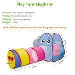 Sonyabecca-Play-Tent-Tunnel-Playhouse-for-Kids-GirlsBoysPop-Up-Play-Tent-Crawl-Tunnel-Ball-Pit-0-2