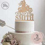 Sugar-Yeti-Brand-Made-in-USA-Custom-Cake-Toppers-Mr-Mrs-Motorcycle-Wedding-Cake-Toppers-Personalized-With-Last-Name-0-2