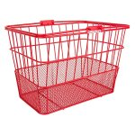 Sunlite-Standard-Mesh-Bottom-Lift-Off-Basket-w-Bracket-Red-0