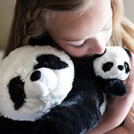Super-Soft-Giant-Panda-Bears-Stuffed-Animals-Set-by-Exceptional-Home-Zoo-18-Pandas-with-Baby-Teddy-Bear-Cub-Kids-Toys-Plush-Animal-Gifts-Children-Give-Happiness-0-2