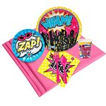 Superhero-Girl-Party-Supplies-Party-Pack-for-24-0
