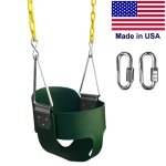 Swing-N-Play-High-Back-Full-Bucket-Swing-with-Coated-Chain-and-2-Snap-Hooks-0