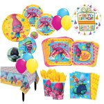 The-Ultimate-8-Guest-Trolls-the-Movie-Birthday-Party-Supplies-and-Balloon-Decoration-Kit-0