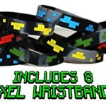 The-Ultimate-Party-Favors-for-Miner-Themed-Birthday-Party-8-Pack-of-Supplies-Fun-Party-Additions-Green-Pixelated-Glasses-Wristbands-Character-Toys-and-Balloons-will-make-the-Party-a-Success-0-2