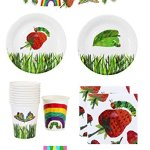 The-Very-Hungry-Caterpillar-Party-Supplies-Pack-for-12-Guests-Including-Plates-Napkins-Cups-And-9-Foot-Banner-0