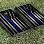 Thin-Blue-Line-Police-Themed-Cornhole-Game-Set-0